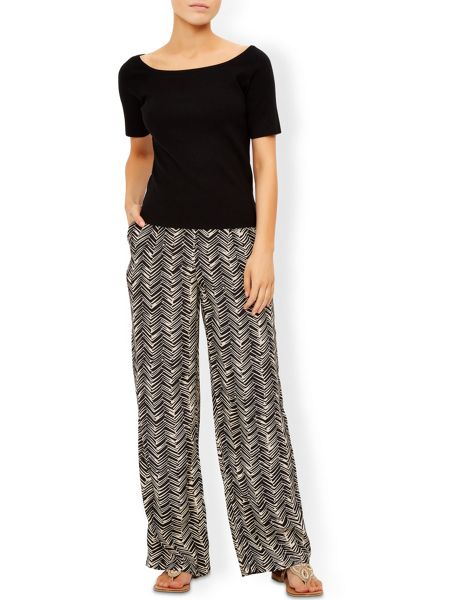 Monsoon Merrilyn Printed Trouser