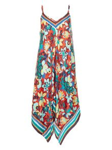 Monsoon Mexican Floral Hanky Dress