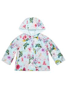 Monsoon Baby Girl Floral Reversible Jacket