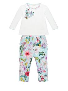 Monsoon Baby Girl Newborn Jersey Set
