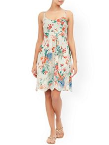 Monsoon Francesca Print Sun Dress