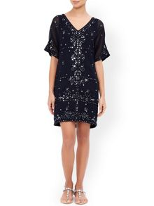 Monsoon Alexia Mirror Dress
