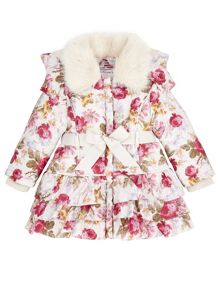 Monsoon Baby Girl Molly Padded Coat
