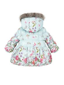 Monsoon Baby Girl Primavera Padded Coat