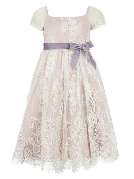 Monsoon Girls Damsel Lace Dress