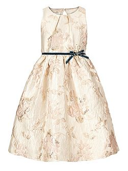 Girls Nina Jaquard Dress