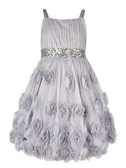 Girls Rosia Sparkle Cascade Dress