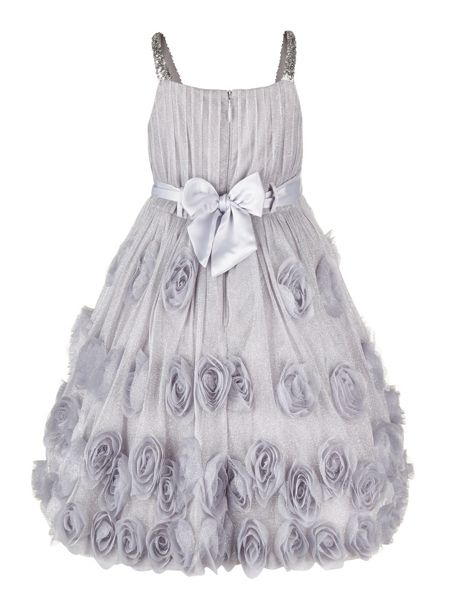 Monsoon Girls Rosia Sparkle Cascade Dress
