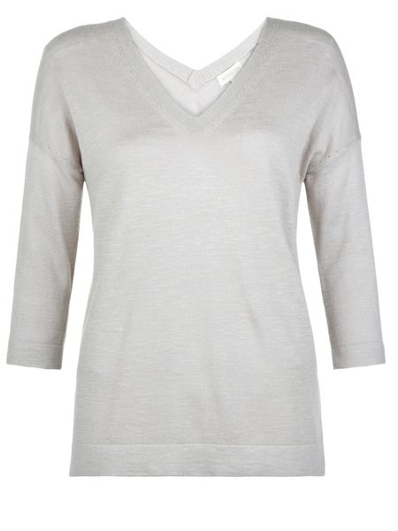 Monsoon Veronica Front and Back V Neck Jumper