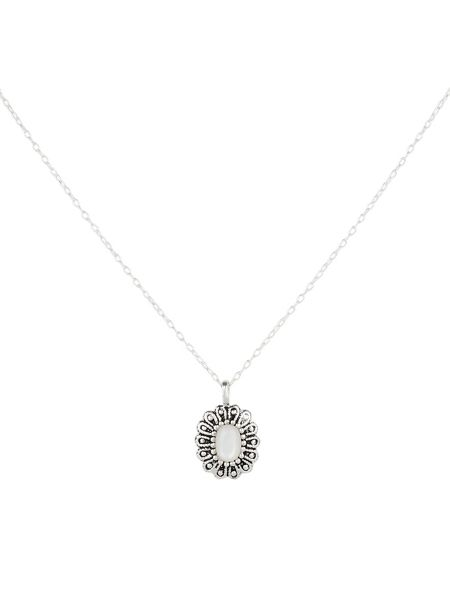 Accessorize Sterling Silver Mother of Pearl Pendant