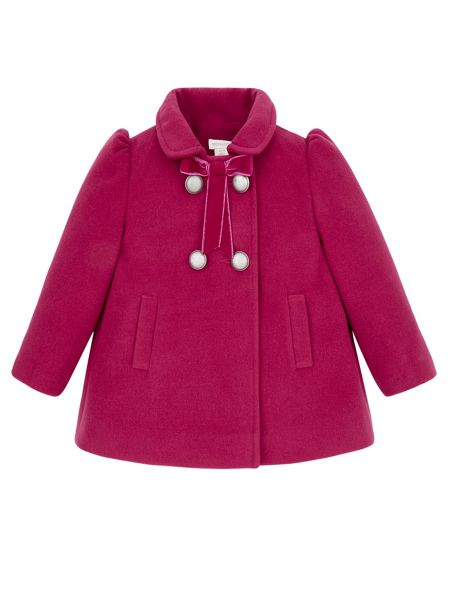 Monsoon Baby Girl Clarissa Coat