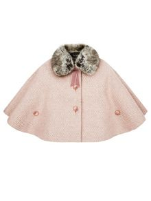 Monsoon Baby Girl Claire Sparkle Cape