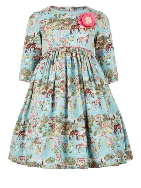 Monsoon Girls Secret Garden Dress