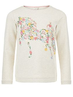 Girls Hermione Horse Jumper