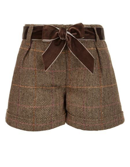Monsoon Girls Tilly Tweed Short