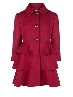 Girls Florence Frill Coat