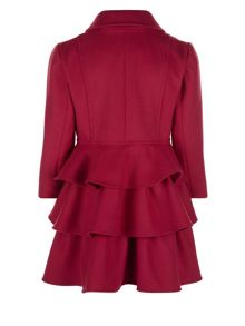 Monsoon Girls Florence Frill Coat