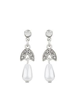 Classic Occasion Short Drop Earrings