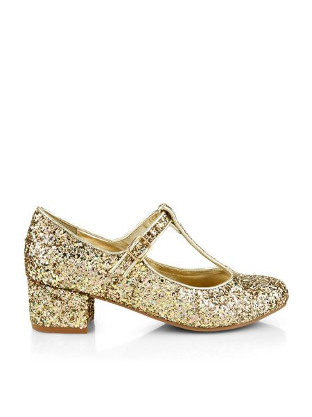 Monsoon Girls Storm Glitter Heel Shoe