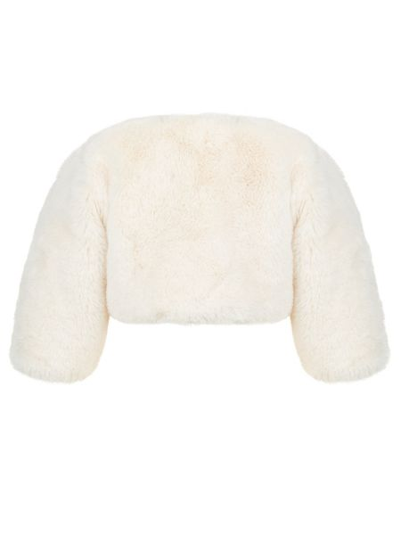 Monsoon Baby Girl Violina Teddy Fur Coverup