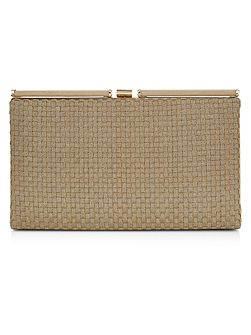 Holly Woven Hardcase Clutch Bag