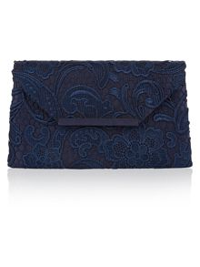 Accessorize Structured Lace Envelope Bag