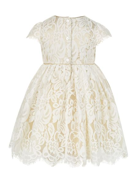 Monsoon Baby Girl Elicia Lace Dress