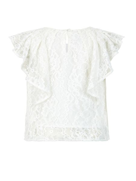 Monsoon Girls Hester Lace Top