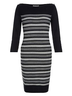 Salem Stripe Stitch Dress