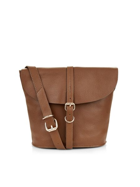 Accessorize Pippa leather across body bag