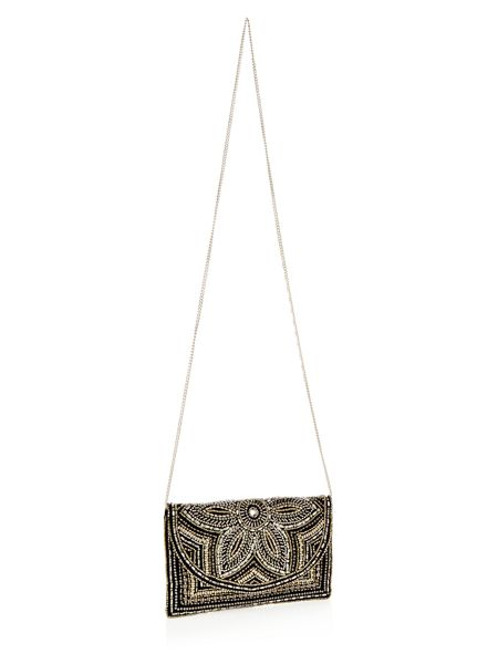 Accessorize Tilly Embellished Clutch Bag