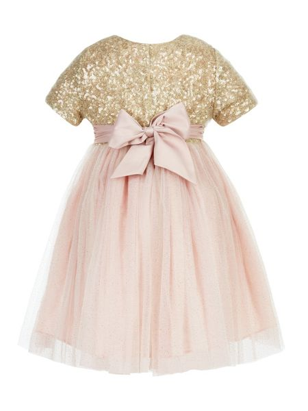 Monsoon Baby Girl Principessa Dress