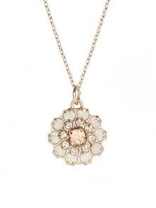 Accessorize Edie Flower Pendant Necklace