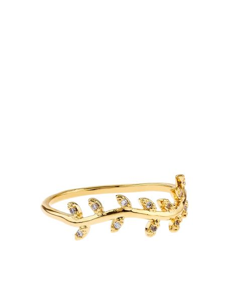Accessorize Delicate Vine Band Ring