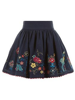 Girls Hedgerow Border Skirt