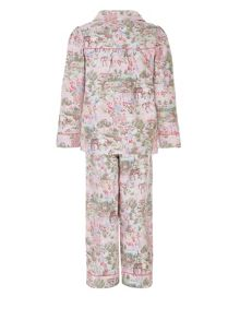 Monsoon Girls Secret Garden Flannel PJ