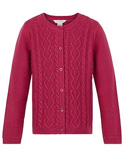 Girls Carla Cable Cardigan