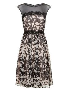 Monsoon Victoria Print Dress