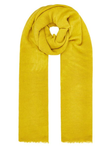 Accessorize Lily ribbed scarf