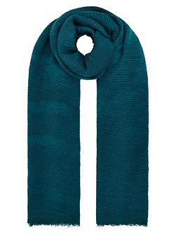 Lily ribbed scarf