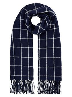 Notting hill check scarf