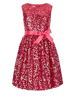 Girls Ottalia Multi Sequin Dress