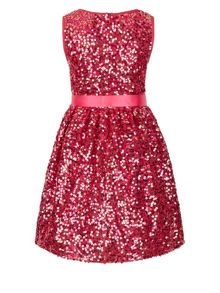 Monsoon Girls Ottalia Multi Sequin Dress