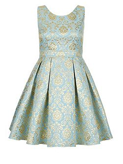 Girls Selina Jaquard Dress