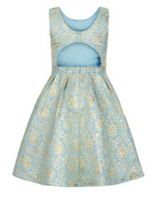 Monsoon Girls Selina Jaquard Dress