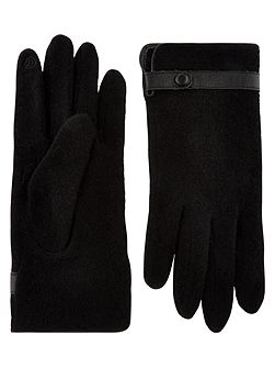 Wool Smart Glove With Strap