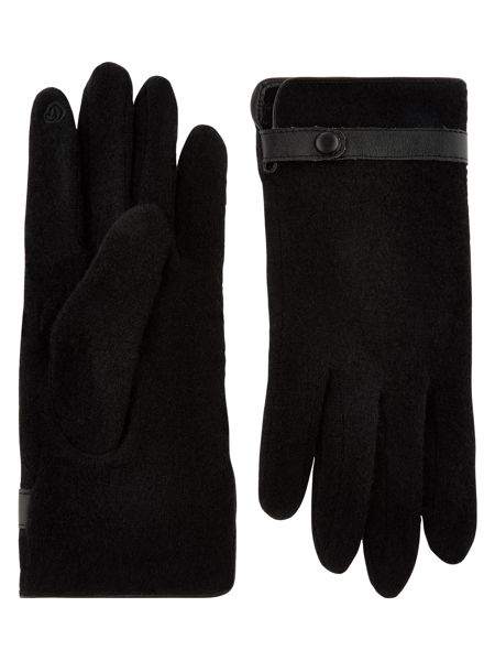 Accessorize Wool Smart Glove With Strap