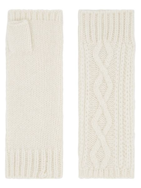 Accessorize Cashmere Cable Cut Off Gloves