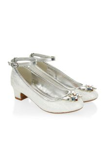 Monsoon Girls Butterfly Sparkle Cha Cha Shoe