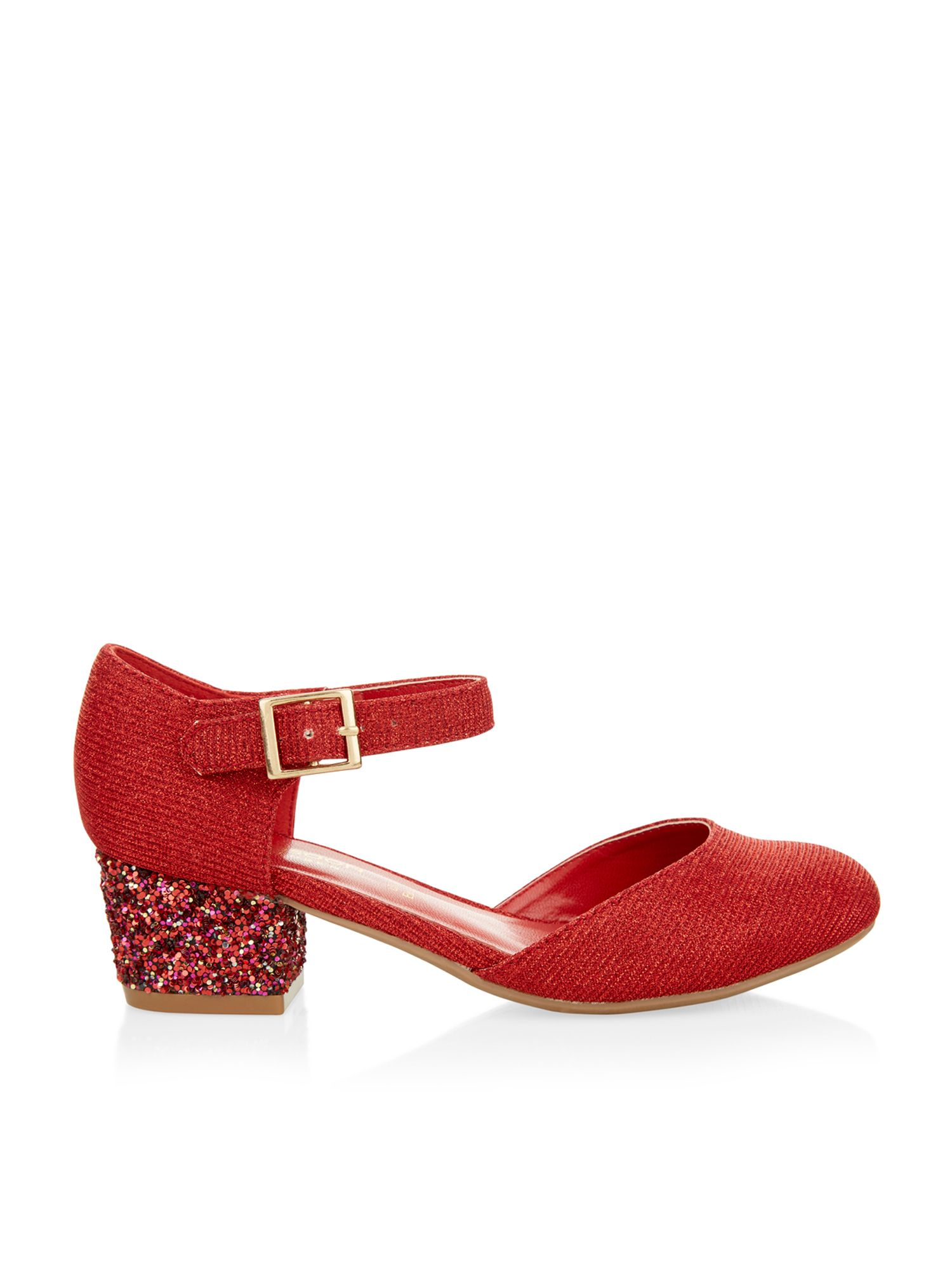 Red Sparkly Shoes Monsoon